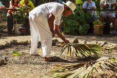 Mayans está dando boas-vindas Fotos de Stock Royalty Free