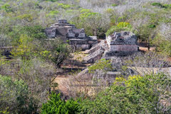 Mayans Ruins at Ek Balam Stock Images