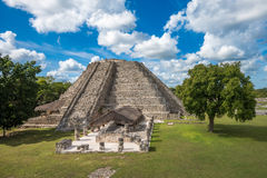 Mayapan ancient ruins, Yucatan, Mexico Royalty Free Stock Photography