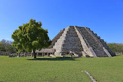 Mayapan ancient ruins, Yucatan, Mexico Royalty Free Stock Photos