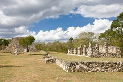 Mayapan - Old Mayan place in Yucatan near by Merida Stock Image