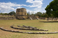Mayapan - Old Mayan place in Yucatan near by Merida Stock Photos