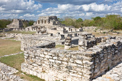 Mayapan - Old Mayan place in Yucatan near by Merida Stock Photography