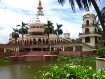 Mayapur temple Royalty Free Stock Images