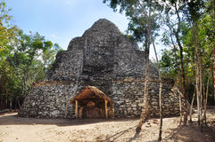 Mayapyramide, Coba, Mexiko Stockfotografie