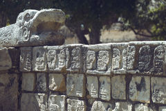 Mayapyramiden stockfotos