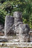 Mayaruine in Cozumel, Mexiko lizenzfreie stockbilder