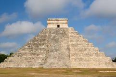 Mayaruinen Chichen Itza in Mexiko Lizenzfreies Stockfoto
