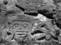 Mayaruinen Friedhof Uxmal lizenzfreies stockfoto