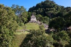 Mayaruinen in Palenque Lizenzfreies Stockfoto