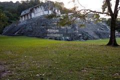 Mayaruinen in Palenque Lizenzfreie Stockfotos