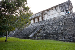 Mayaruinen in Palenque Lizenzfreies Stockbild