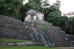 Mayaruinen in Palenque Lizenzfreie Stockfotografie