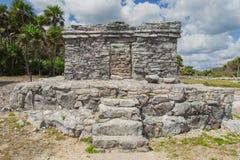 Mayaruinen von Tulum Alte Stadt Archäologische Fundstätte Tulum Riviera-Maya mexiko Stockfoto