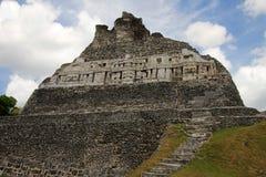 Mayaruinen Xunantunich, San Ignacio, Belize stockbilder