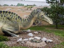 Mayasaura dinosaur Obrazy Stock