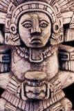 Mayaskulptur Stockfoto