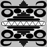 mayategelplatta Arkivbilder