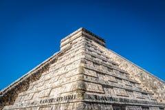 Mayatempelpyramide von Kukulkan - Chichen Itza, Yucatan, Mexiko Stockbild