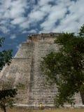 Mayatemple Uxmal - au Mexique Image libre de droits
