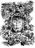 Mayazeichnung Stockbilder