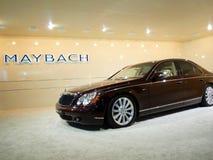 maybach роскоши дисплея автомобиля стоковое изображение