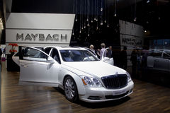 Maybach 57S in Paris Motor Show 2010 Stock Images