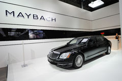 Maybach 62 pavilion Stock Image