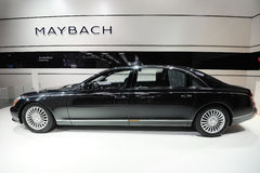Maybach 62 pavilion Stock Photography
