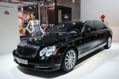 Maybach 62s Stock Image