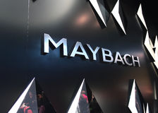 Maybach at the IAA Cars Stock Image