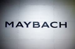 Maybach logo Royalty Free Stock Photo
