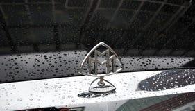 Maybach Mercedes, auf IAA Frankfurt 2011 Lizenzfreie Stockbilder