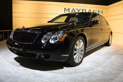 Maybach at Moscow International exhibition royalty free stock photo