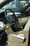 Maybach 62s interior Stock Images