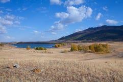 Maybalik湖 免版税库存图片