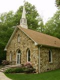 Mayberry Presbyterian Church, Patrick County, Virginia, USA. Patrick County, Virginia USA – August 27th: Mayberry Presbyterian Church is a historic Royalty Free Stock Images