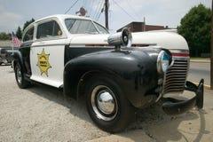 Mayberry sheriff bil för polis för avdelning royaltyfri fotografi