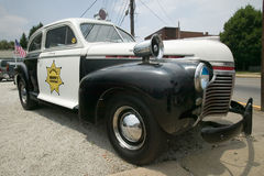 Mayberry Sheriff's Department Police Car Royalty Free Stock Photography
