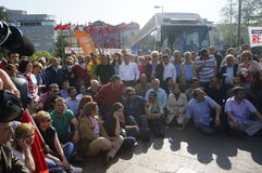 Mayday à Istanbul Images libres de droits