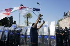 Mayday à Istanbul Image libre de droits