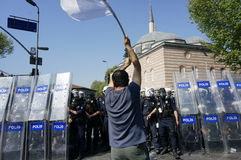 Mayday à Istanbul Images stock