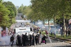 Mayday à Istanbul Photographie stock libre de droits