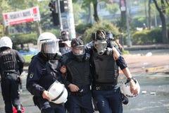 Mayday à Istanbul Photos libres de droits
