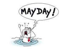 mayday Fotografía de archivo