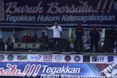 Mayday dans la ville de Semarang Photo libre de droits