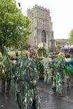 Mayday Jack de Hastings no festival verde 2017 Imagem de Stock