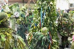 Mayday Jack de Hastings no festival verde 2017 Imagens de Stock