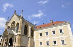 Mayerling Schloss, Wien-Holz lizenzfreies stockbild