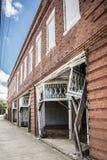 Mayesville, Streetscape dello Sc Fotografia Stock